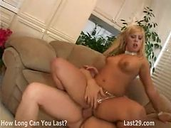 smoking hot blonde girl fucked doggy