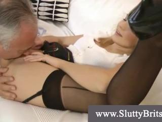 Porn old pussy man Teen with