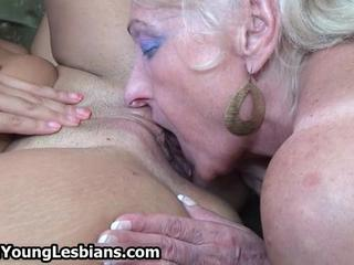 Grandma loves to lick pussy