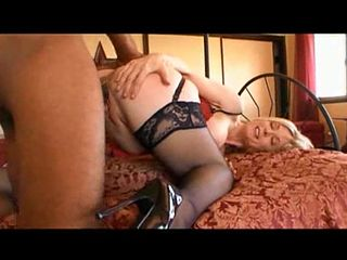 Blonde huge natural tits fucked