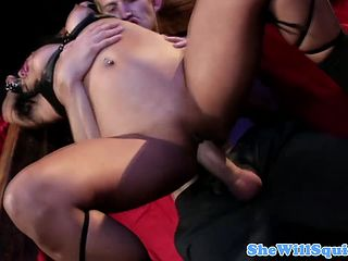 Boobs pressing and sucking