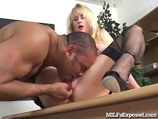 Cute black milf