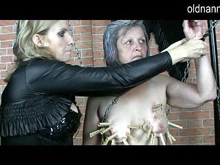 Old mature bdsm