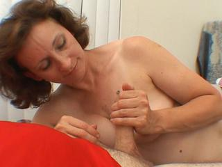 Mature play with cocks